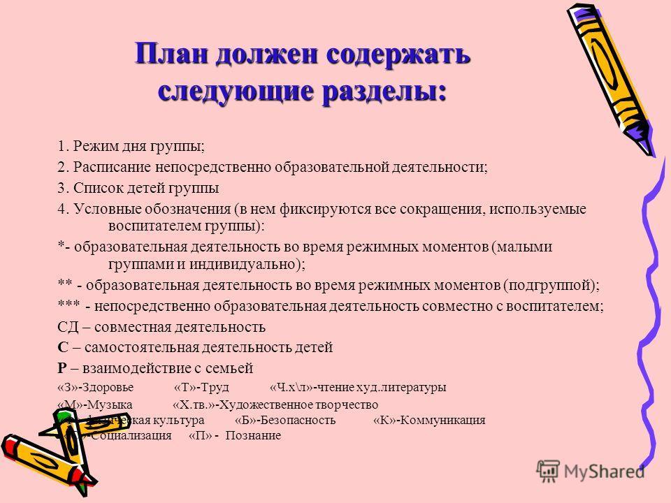 """""""Календарное планирование"""