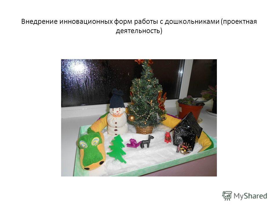 Внедрение инновационных форм работы с дошкольниками (проектная деятельность)