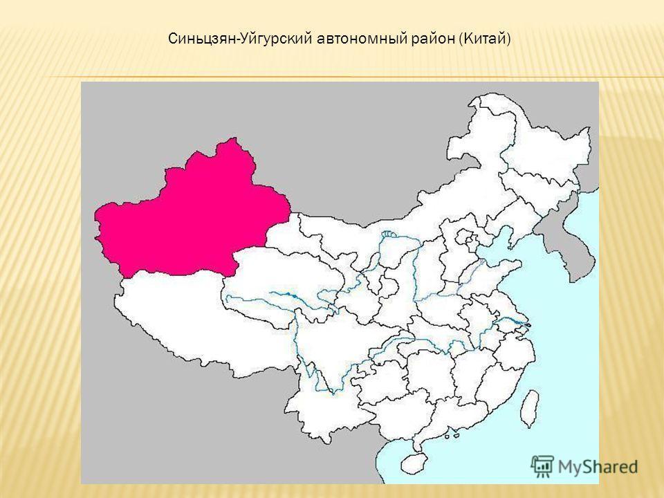 Синьцзян-Уйгурский автономный район (Китай)