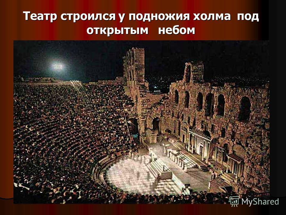 Театр возник в Древней Греции более 2500 лет назад в честь Бога Диониса День рождения театра отмечает весь мир 27 марта