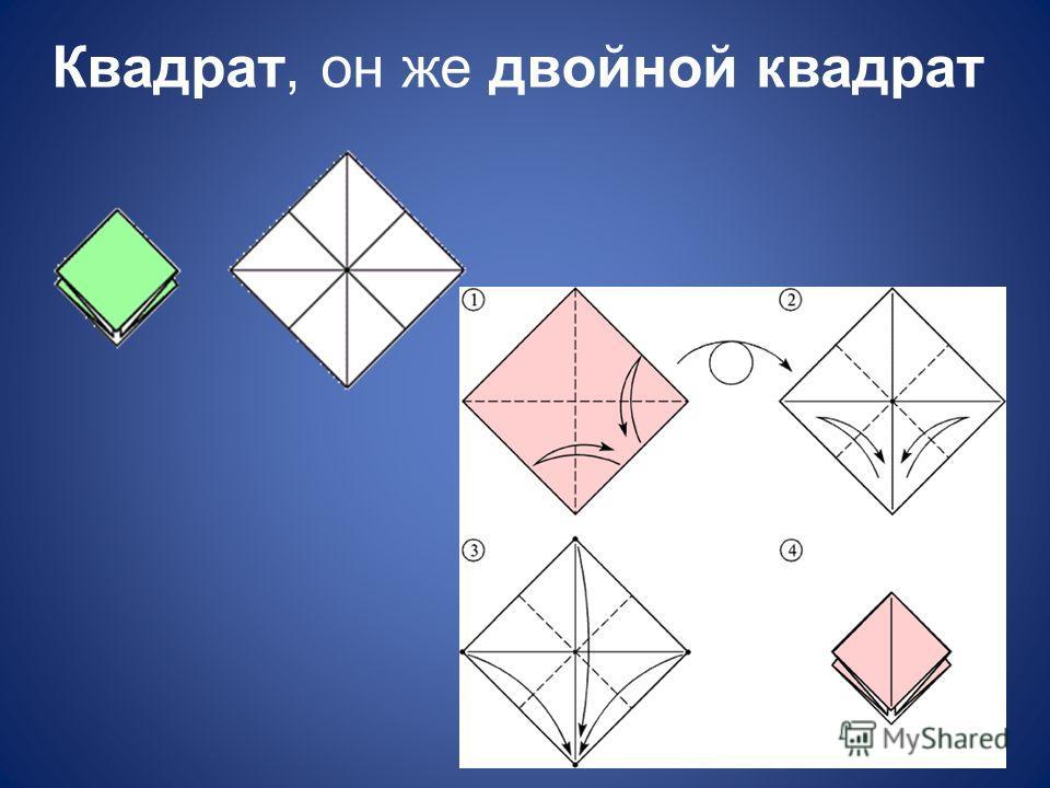Квадрат, он же двойной квадрат