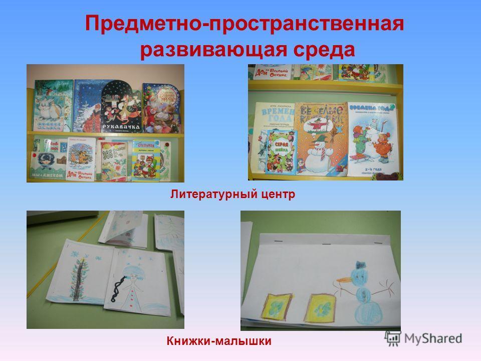Предметно-пространственная развивающая среда Литературный центр Книжки-малышки