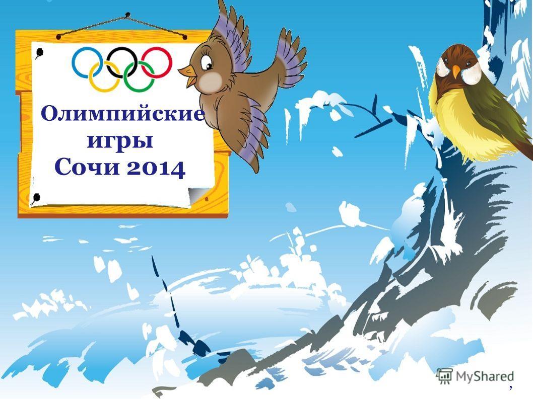 Олимпийские игры Сочи 2014,