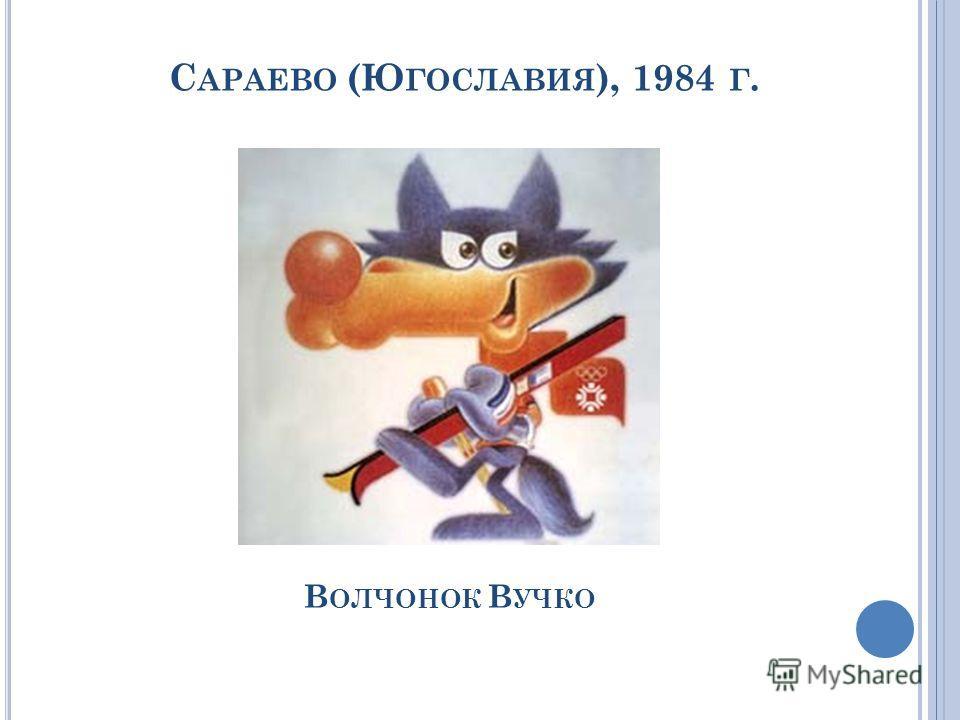 С АРАЕВО (Ю ГОСЛАВИЯ ), 1984 Г. В ОЛЧОНОК В УЧКО