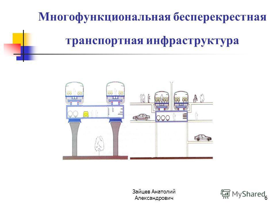 Зайцев Анатолий Александрович 6 Многофункциональная бесперекрестная транспортная инфраструктура