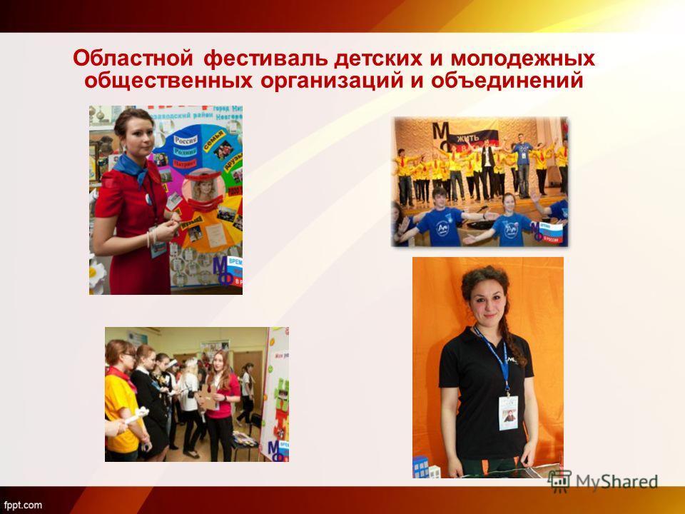 Областной фестиваль детских и молодежных общественных организаций и объединений