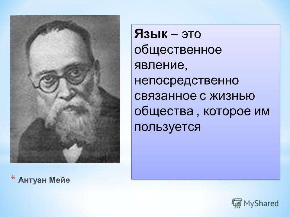 Язык – это общественное явление, непосредственно связанное с жизнью общества, которое им пользуется
