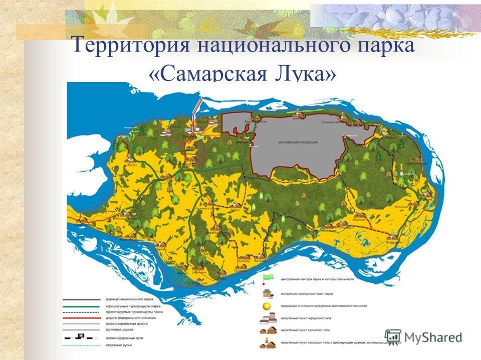 Территория национального парка «Самарская Лука»