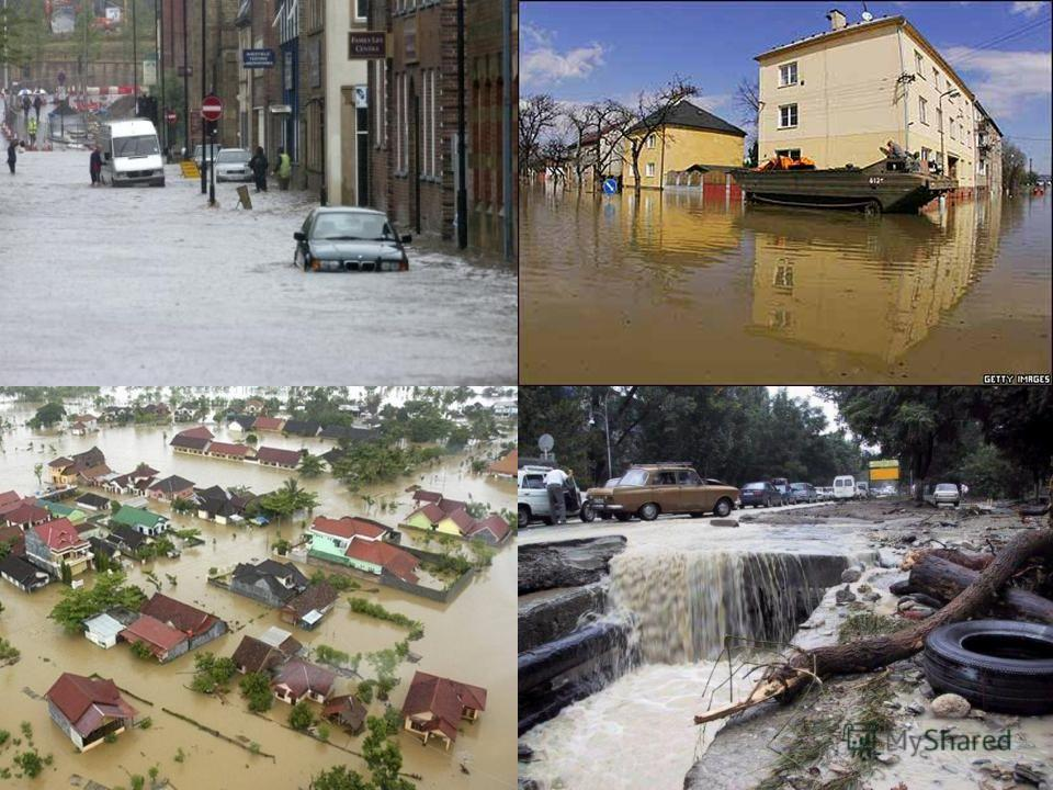 Презентация на тему Наводнения Наводнение это Виды наводнений  4