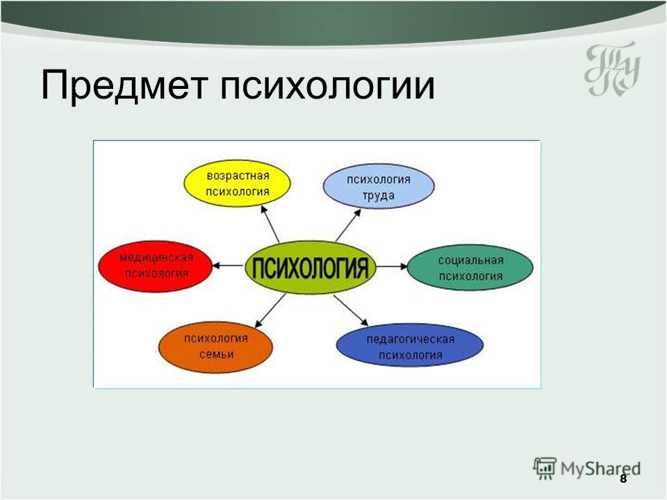 Предмет психологии 8