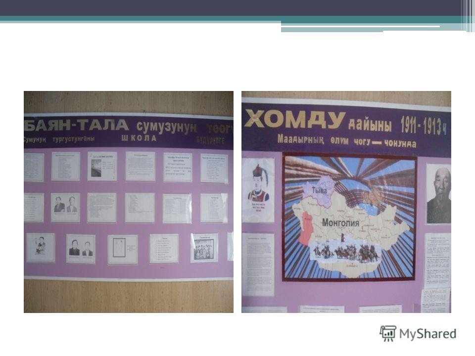Экспозиции музея Республика Тыва – сегодня История Республики Тыва