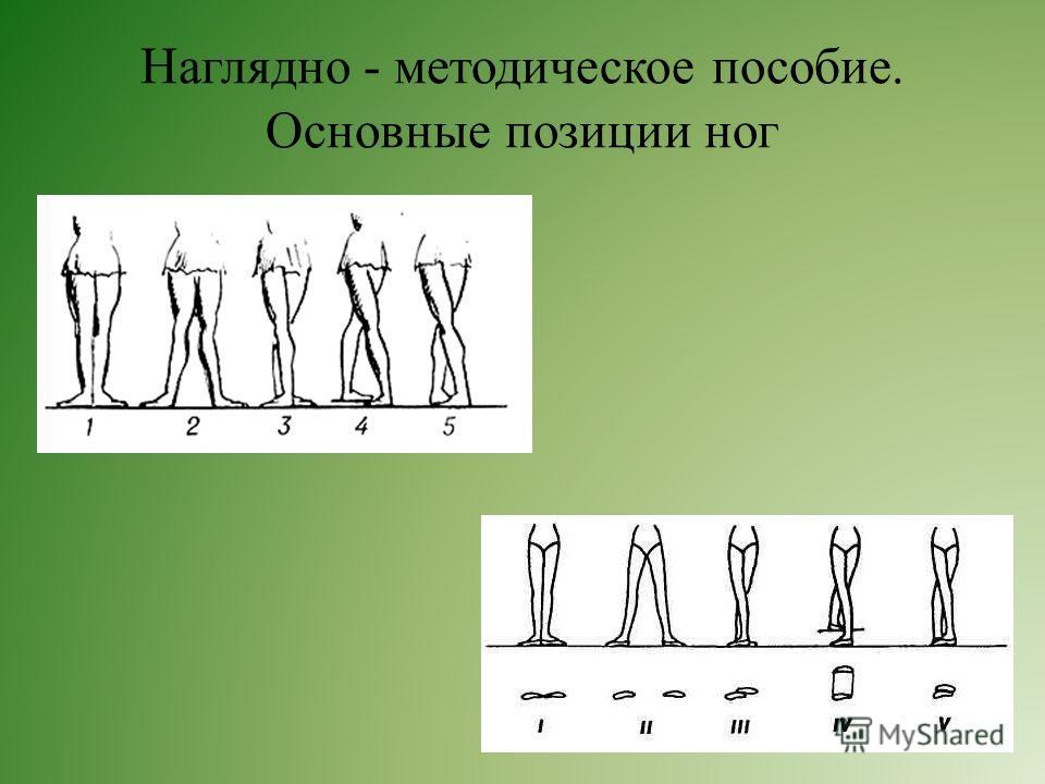 Наглядно - методическое пособие. Основные позиции ног