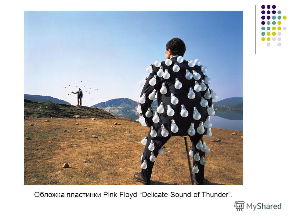 Обложка пластинки Pink Floyd Delicate Sound of Thunder.
