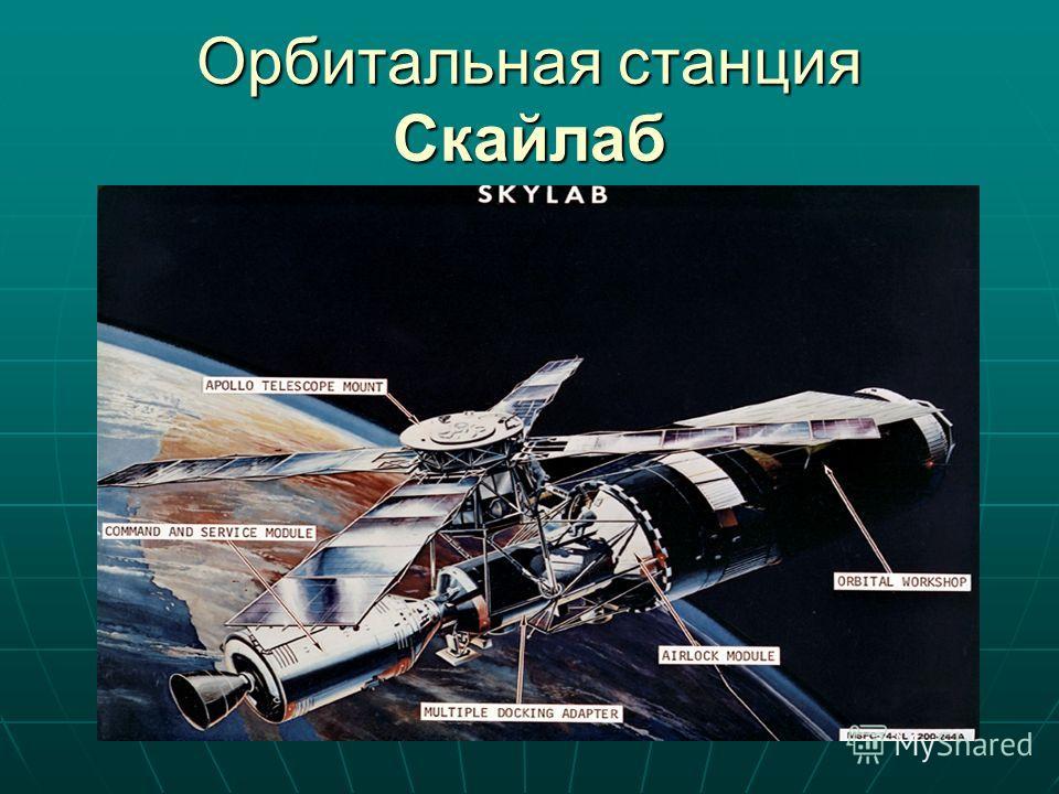 Орбитальная станция Скайлаб