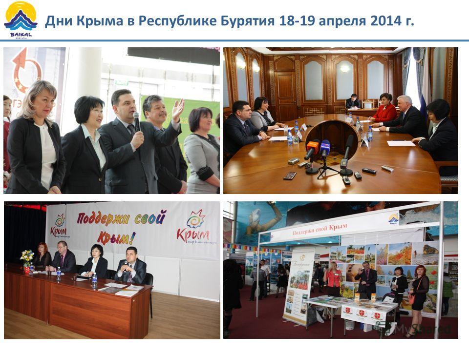 Дни Крыма в Республике Бурятия 18-19 апреля 2014 г.