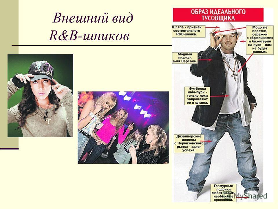Внешний вид R&B-шнеков