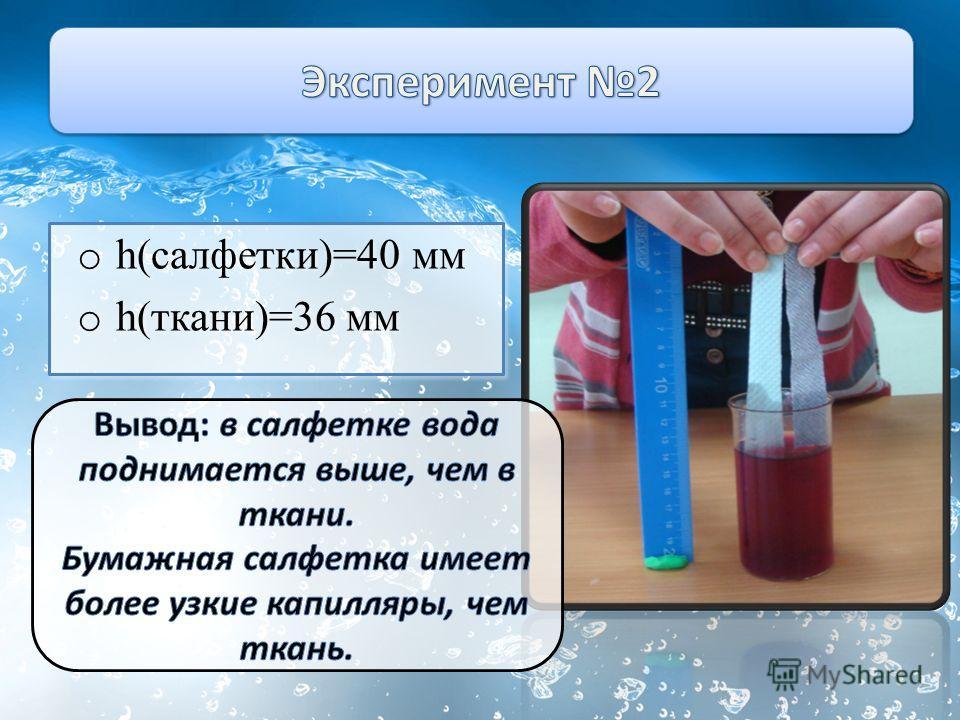 o h(салфетки)=40 мм o h(ткани)=36 мм o h(салфетки)=40 мм o h(ткани)=36 мм