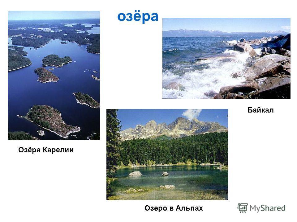 озёра Озёра Карелии Байкал Озеро в Альпах