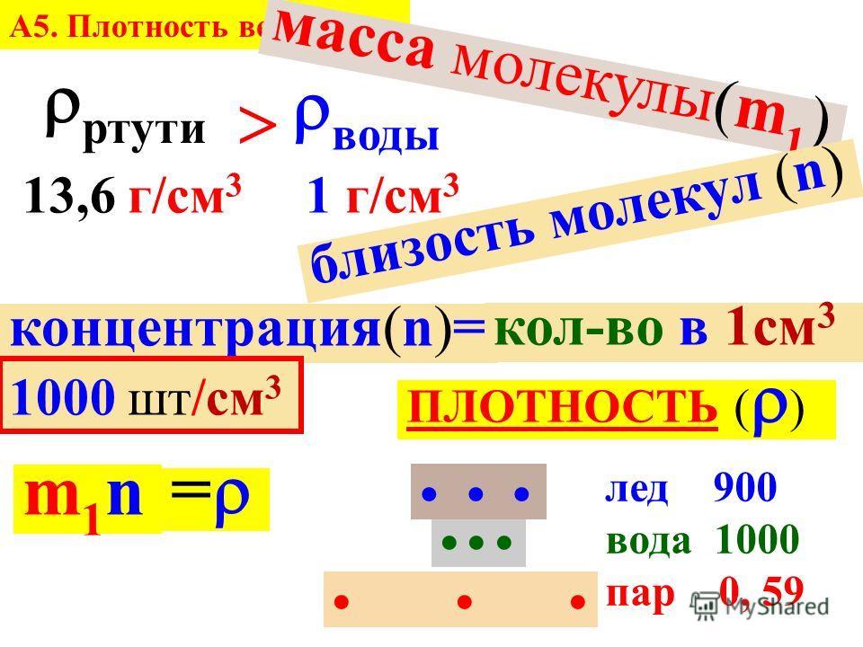 m V 30 см 3 × 40 см 3 m=79 г V= V= 10 см 3 весы = 7,9 г/см 3 таблицы…. корона…. утонуть трудно (для) А5. Плотность вещества.
