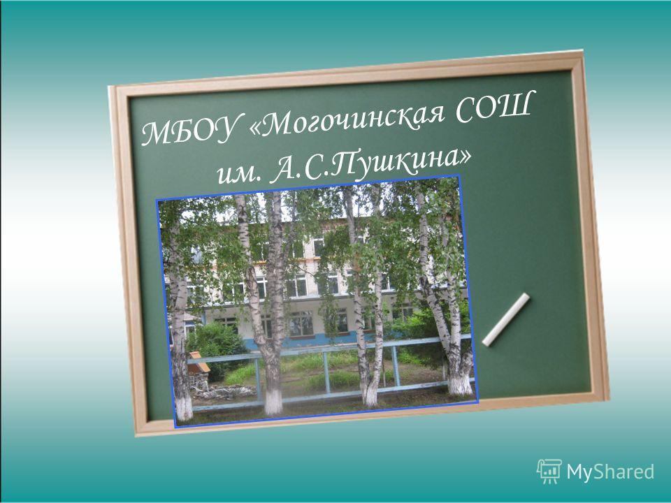МБОУ «Могочинская СОШ им. А.С.Пушкина»