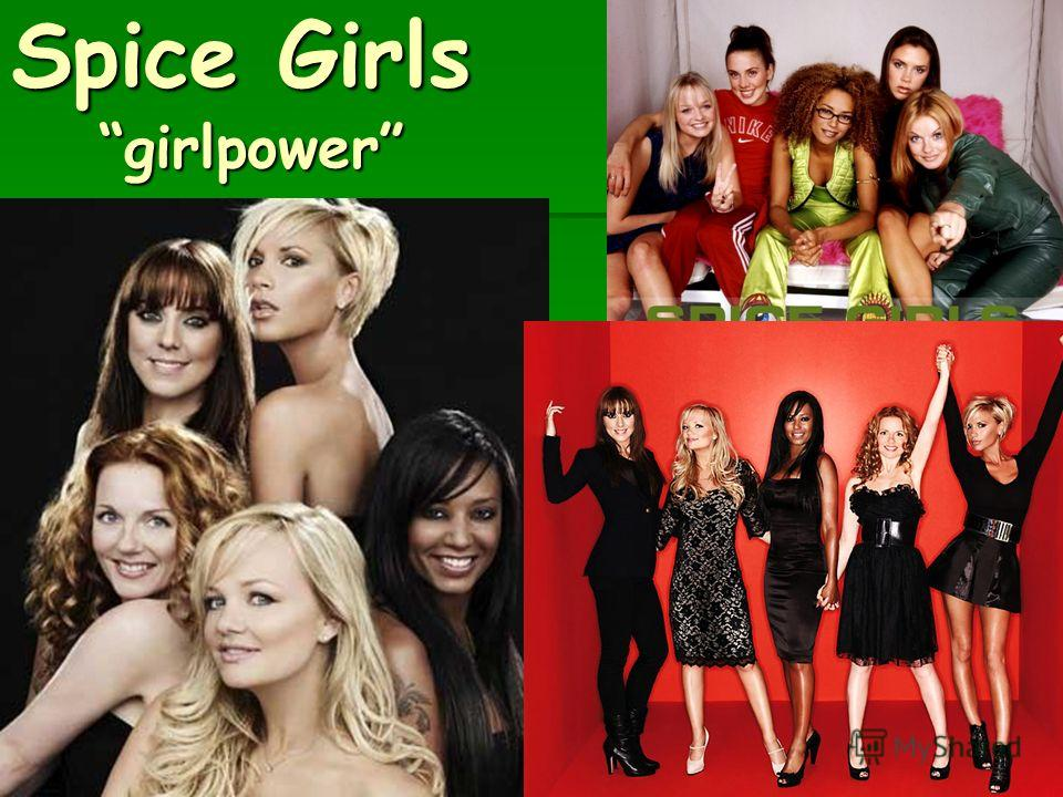 Spice Girls girlpower