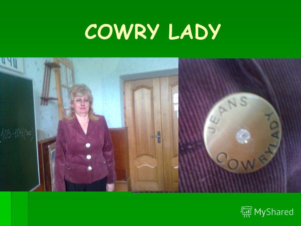 COWRY LADY