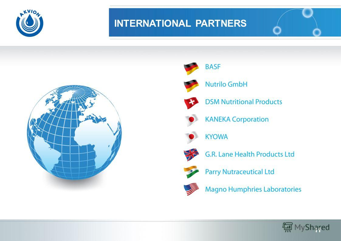INTERNATIONAL PARTNERS 11