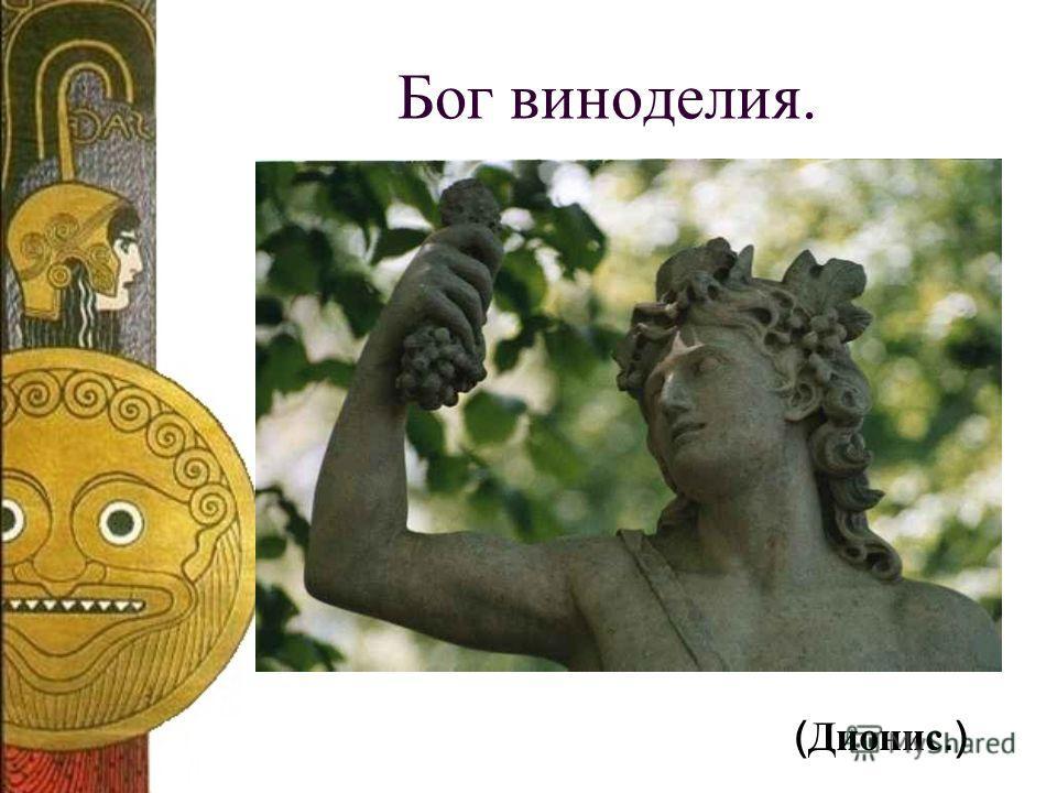 Бог виноделия. ( Дионис.)