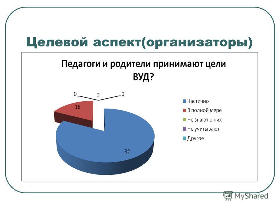 Целевой аспект(организаторы)