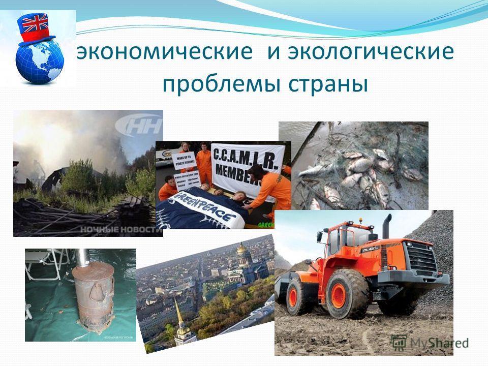 экономические и экологические проблемы страны