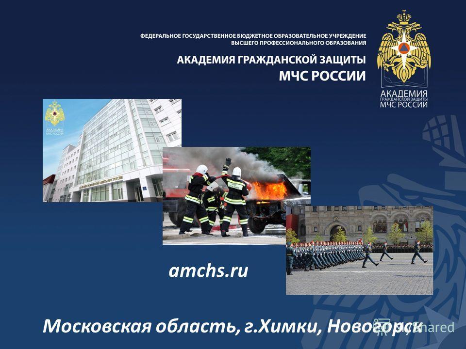 amchs.ru Московская область, г.Химки, Новогорск