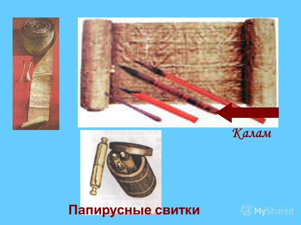 Древний Египет Обработанный стебель папируса острым ножом разрезали на тонкие полоски Уложенные слои покрывали тканью и деревянным молотком осторожно расплющивали волокна. Дикие заросли папируса Обработка папируса