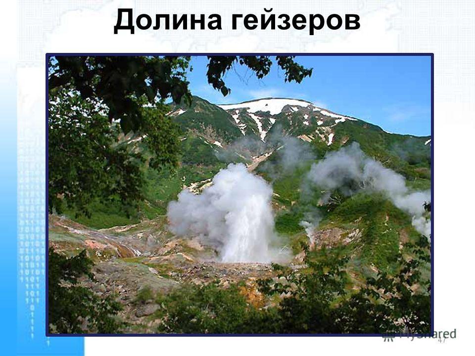 Долина гейзеров 47