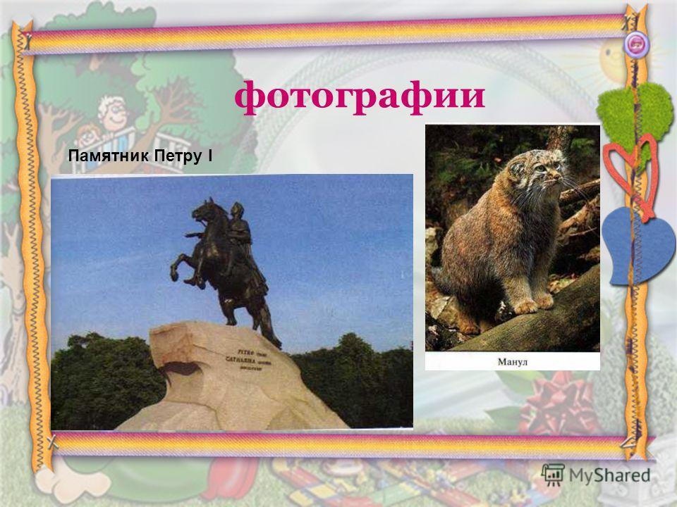 фотографии Памятник Петру I