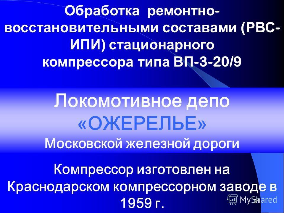 30 Всероссийский научно-исследовательский институт подшипниковой промышленности (ВНИПП) г.Москва Всероссийский научно-исследовательский институт подшипниковой промышленности (ВНИПП) г.Москва Западносибирский научно-исследовательский институт железнод