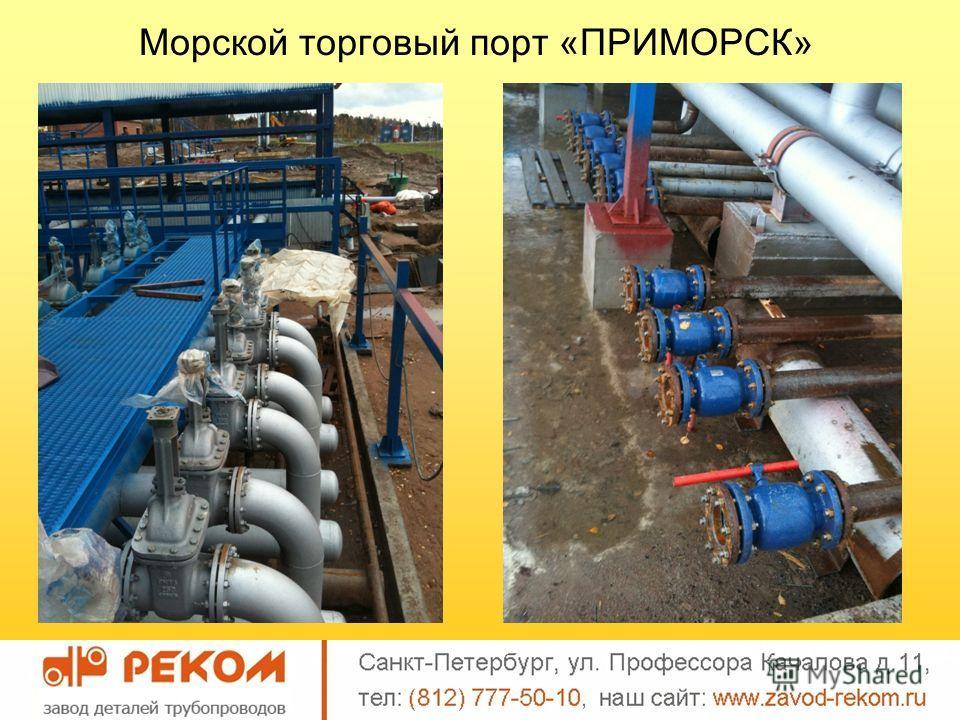 Морской торговый порт «ПРИМОРСК»