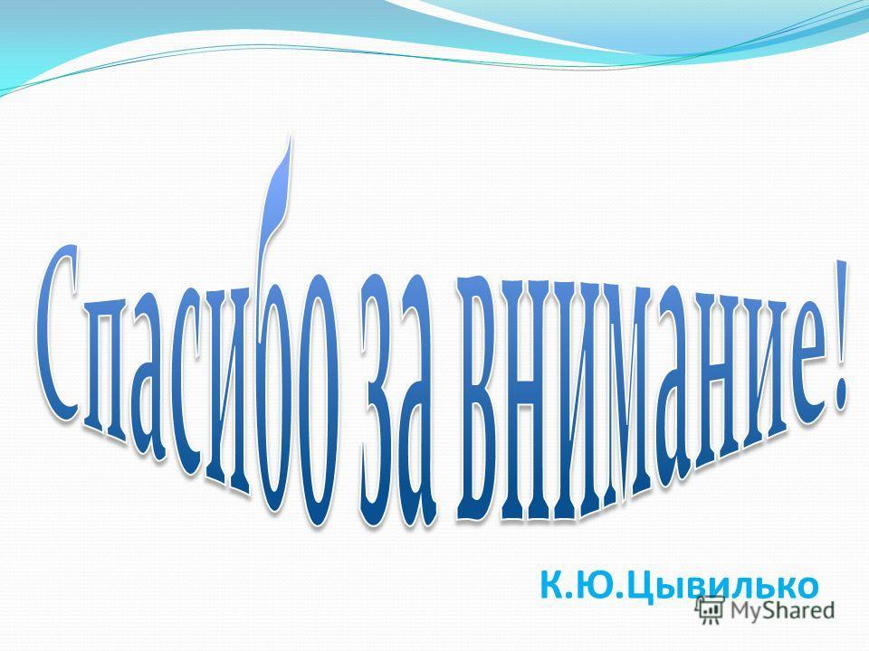 К.Ю.Цывилько