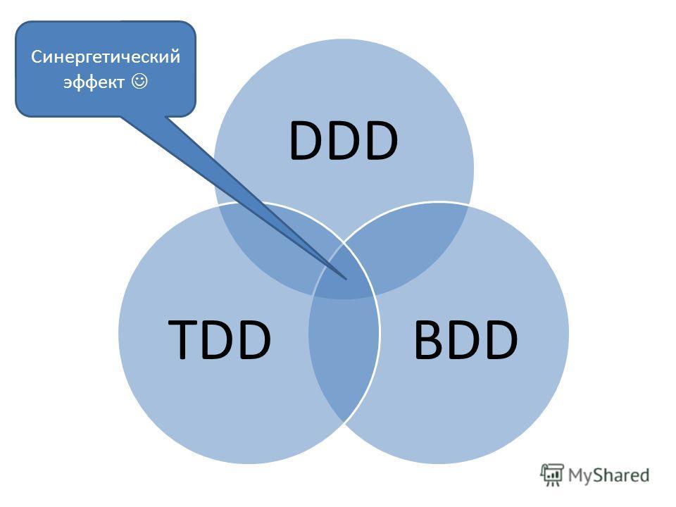DDD BDDTDD Синергетический эффект