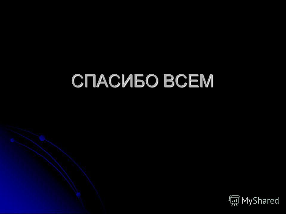 СПАСИБО ВСЕМ