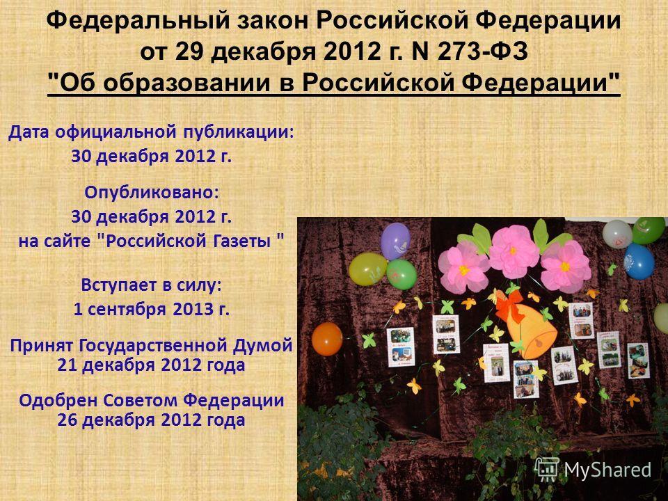 Дата официальной публикации: 30 декабря 2012 г. Опубликовано: 30 декабря 2012 г. на сайте