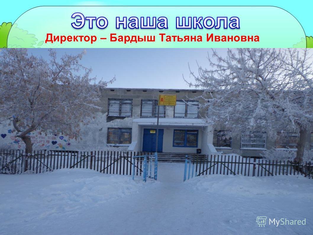 Директор – Бардыш Татьяна Ивановна