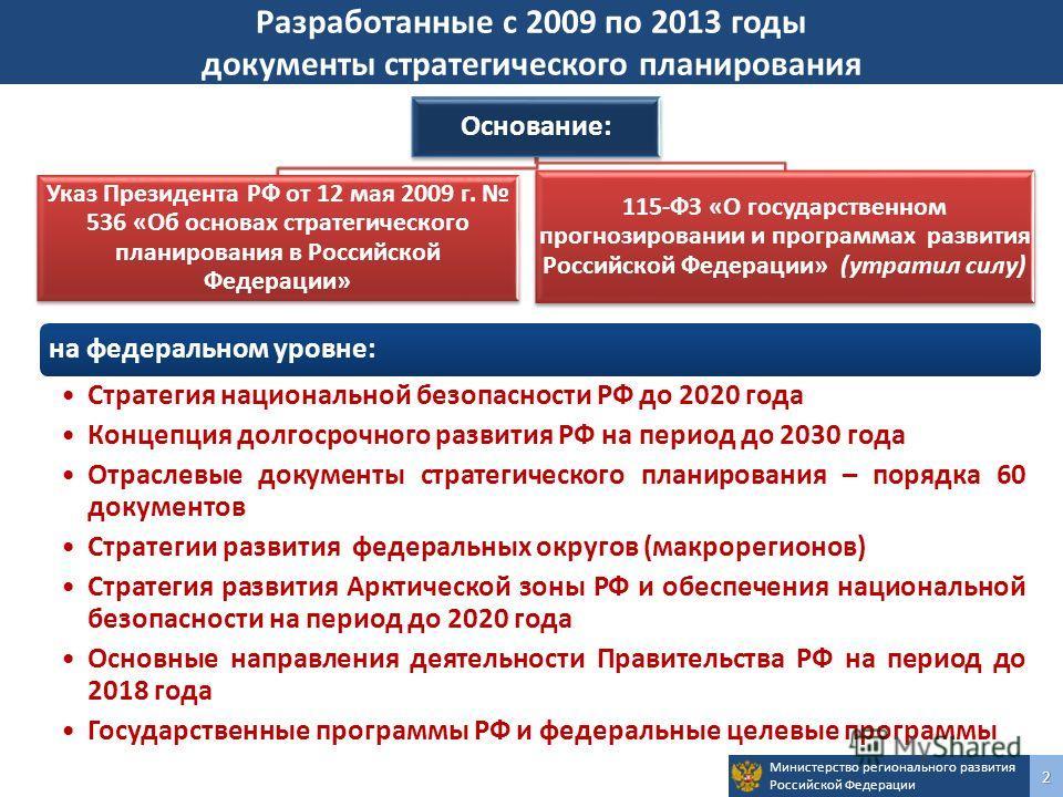стратегические планы развития россии взята открытых