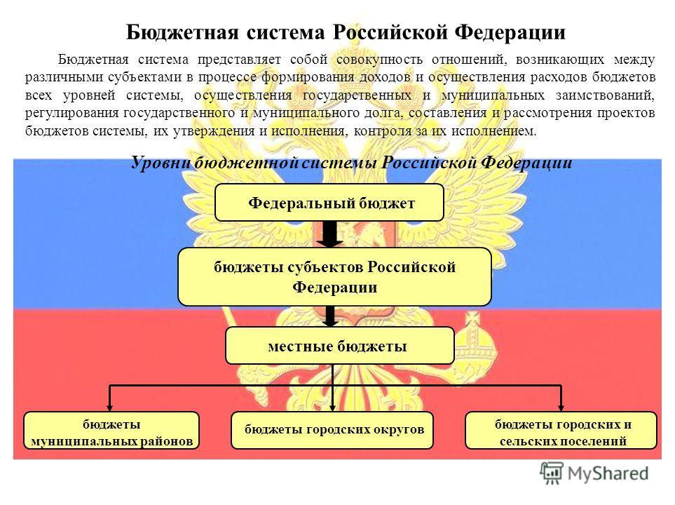 Бюджеты россии в схемах