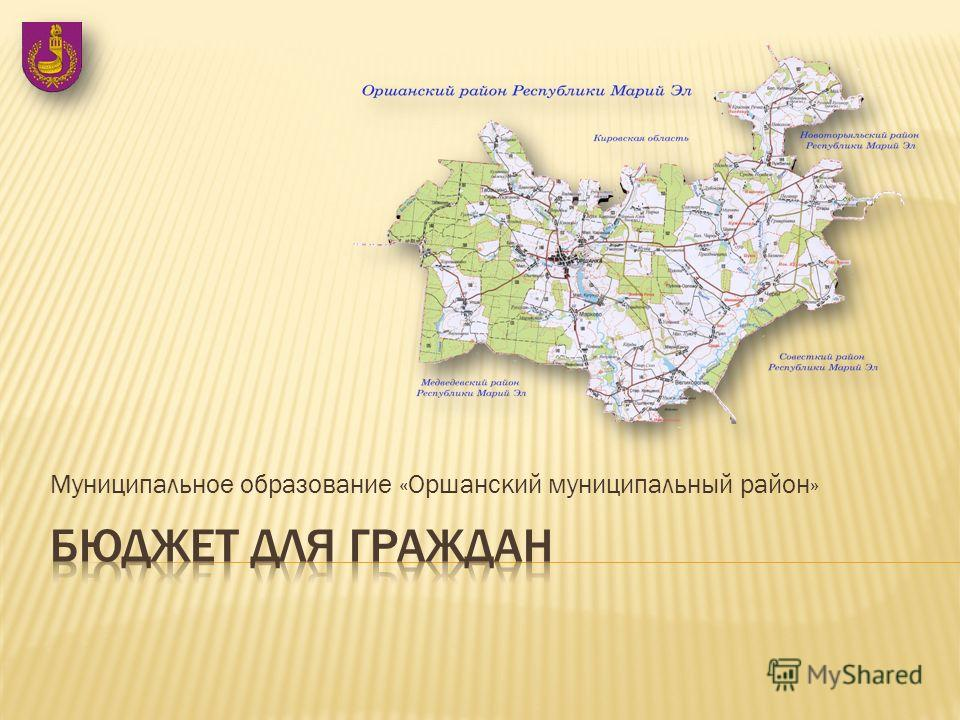 Муниципальное образование «Оршанский муниципальный район»