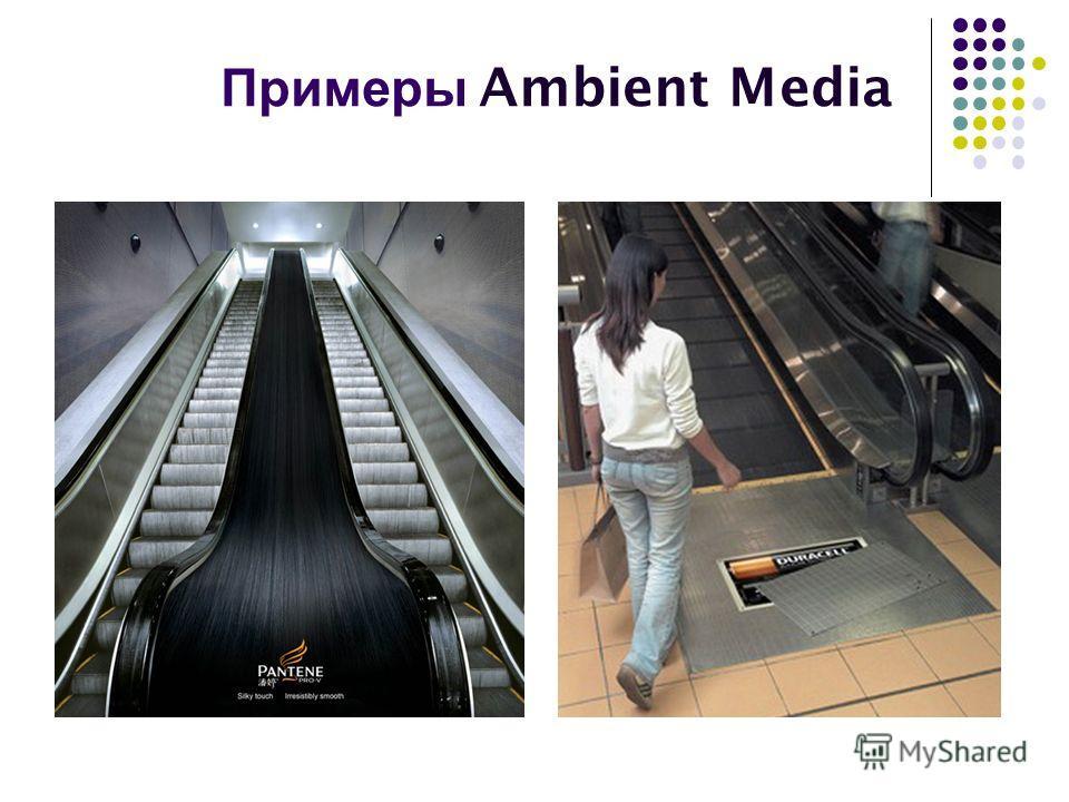 Примеры Ambient Media