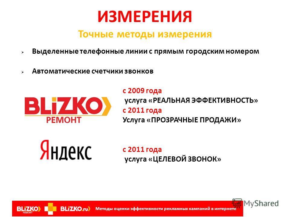 Звонки на BLIZKO.ru Конверсия звонков в продажи – 30%, средний чек – 20 000. То есть в октябре через сайт было совершено продаж на 2 190 000 рублей! Структура и содержание рекламных сообщений на рынке кровельных и фасадных материалов Методы оценки эф
