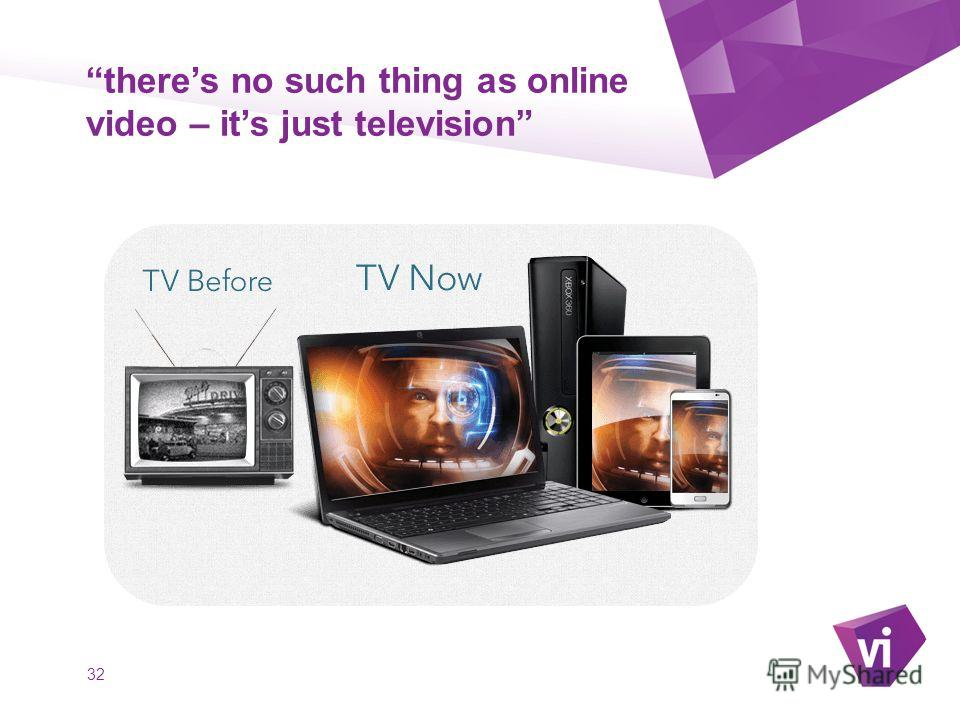 ` theres no such thing as online video – its just television 32
