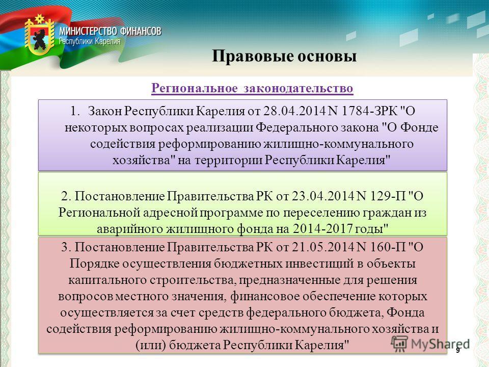 9 2. Постановление Правительства РК от 23.04.2014 N 129-П