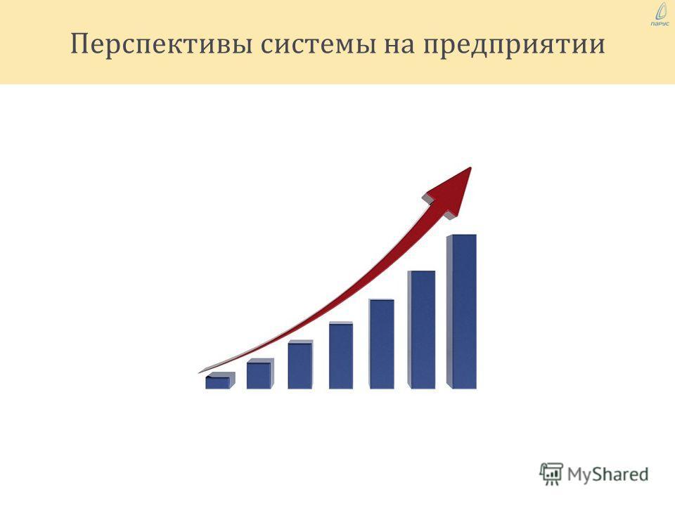 Перспективы системы на предприятии