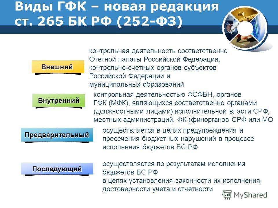 Презентация на тему Государственный финансовый контроль и аудит  17 Виды